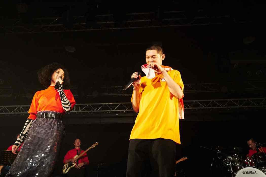9m88演唱會找來金曲歌王好友Leo王擔任嘉賓。圖/爵士寶貝提供