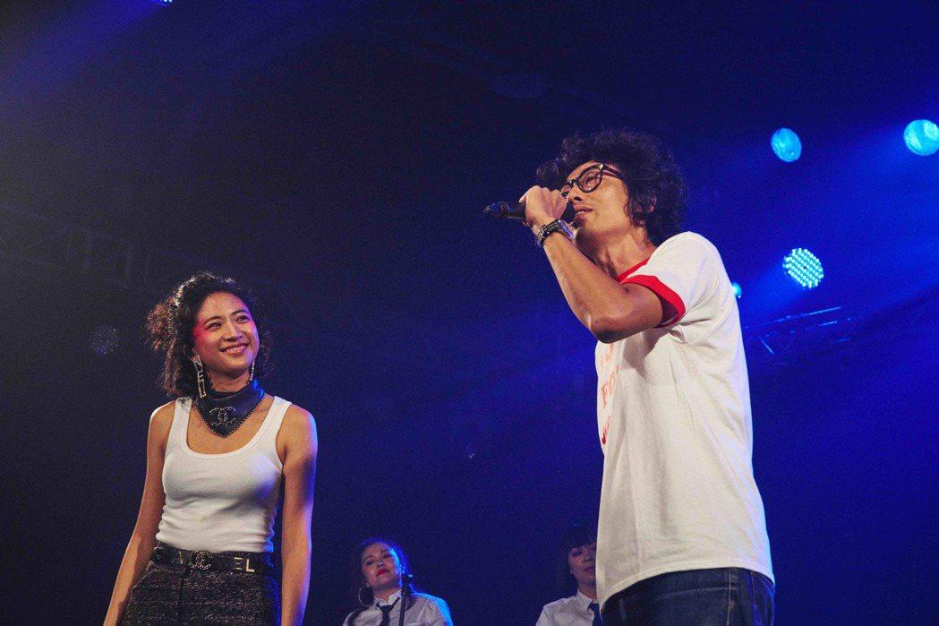9m88演唱會馬念先(右)擔任嘉賓。圖/爵士寶貝提供
