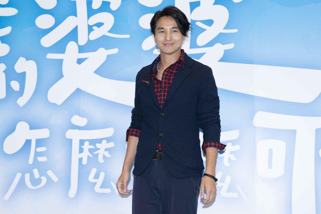 王少偉出席「我的婆婆怎麼那麼可愛」卡司發布會。圖/齊石提供