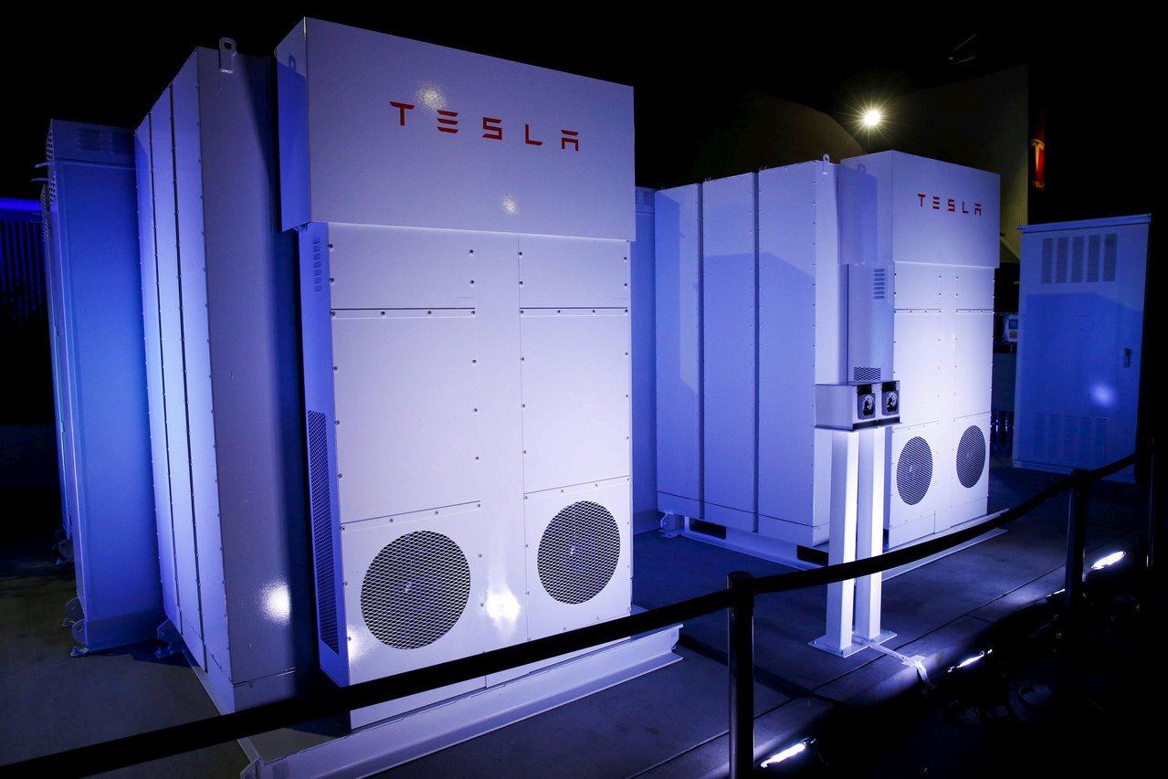 特斯拉Powerwall電池系統。路透