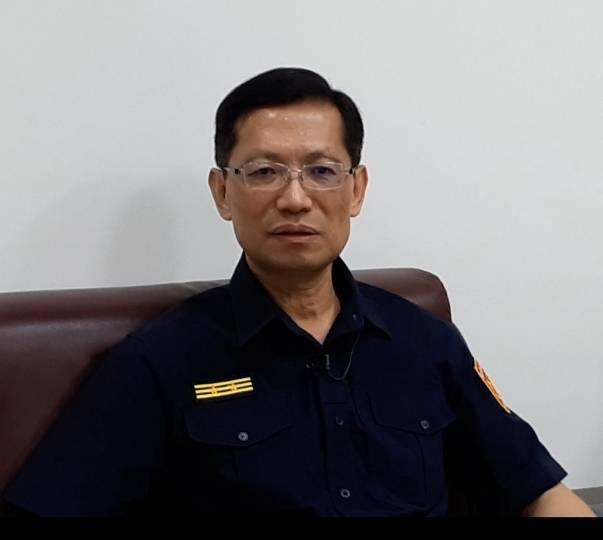 屏東縣警局長葉明潭上午傳中風住院,病情尚穩定。圖/警政署提供