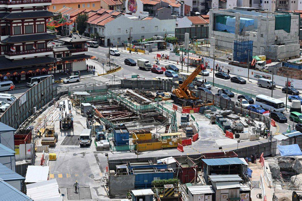新加坡為優化土地利用正將目光轉到地下空間,打算把各種公共設施蓋在地下。 (法新社...