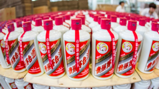 茅台是大陸最大白酒廠。 圖/新浪微博