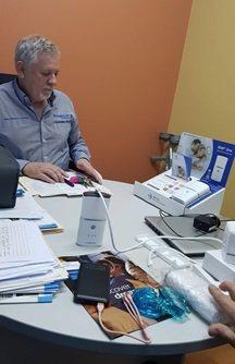 萊鎂醫對澳洲經銷商提供iNAP專業指南及訓練。 萊鎂醫/提供