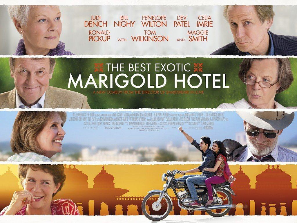 英國電影「金盞花大酒店」探討海外養老。 圖/福斯提供