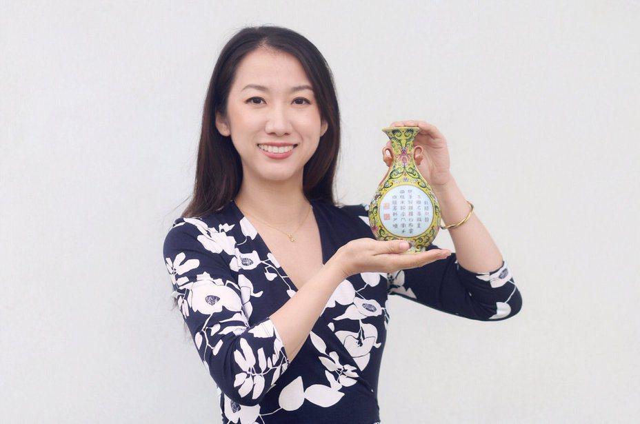 經過鑑定這只花瓶是乾隆皇帝的御用裝飾品。圖擷自Sworders 推特