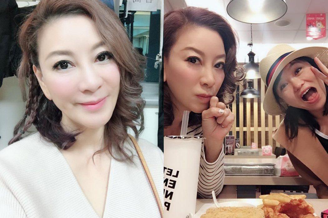 楊繡惠與鄒佩真常常一同出遊。圖 / 擷自臉書