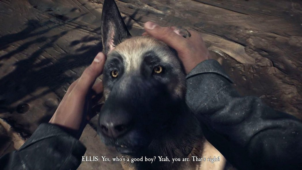 在整個遊戲的攻略中,最重要的莫過於主角身邊的這隻警犬「子彈」(Bullet),牠...