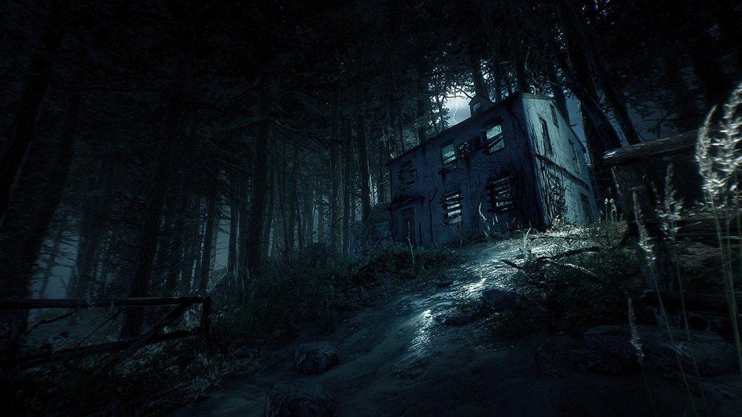 遊戲中的破房子真的和電影有幾分神似了。