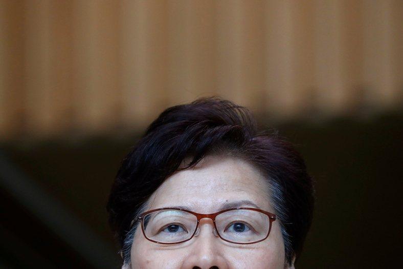 香港特首林鄭月娥召開記者會,攝於9月3日。 圖/路透社