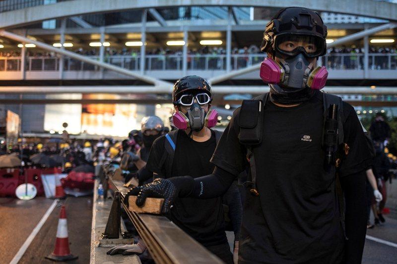 攝於8月31日,香港。 圖/路透社