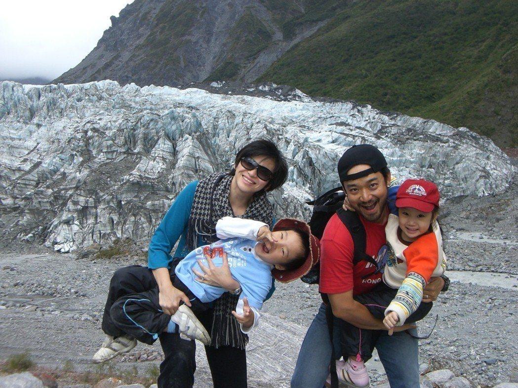 岑永康33歲時,全家到紐西蘭長住一年,奠定良好的親子關係。  圖/岑永康提供