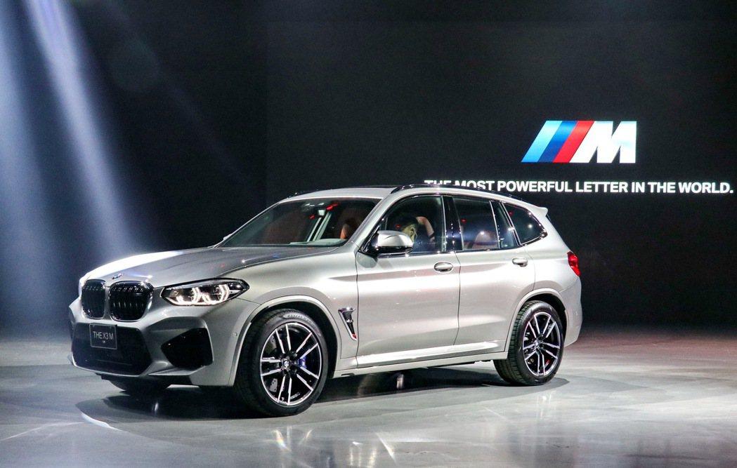 BMW X3M。 記者陳威任/攝影