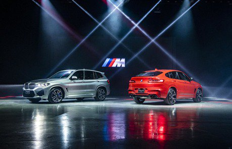 熱血豪華運動休旅 BMW X3M、X4M COMPETITION連袂登台