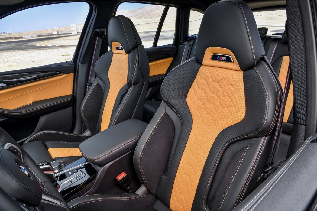 M專屬BMW Individual Merino真皮雙前座跑車座椅。 圖/汎德提...