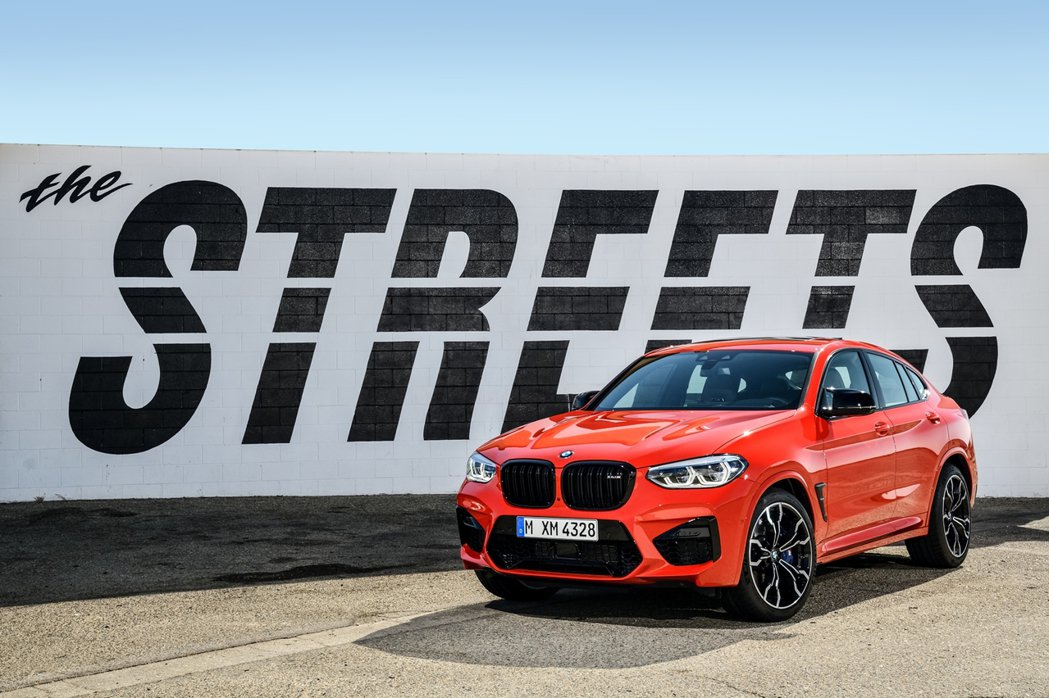 全新BMW X4M Competition。 圖/汎德提供