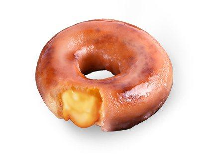 流沙布蕾甜甜圈,售價55元。圖/Krispy Kreme提供