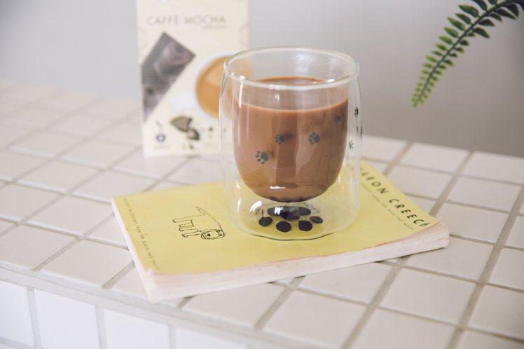 星巴克淘氣狗掌雙層玻璃杯,7-ELEVEN線上購物中心ibon mart限定商品...