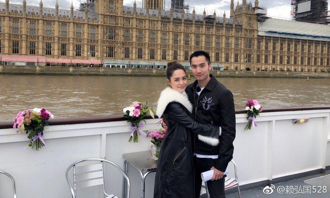 阿嬌與賴弘國結婚一年傳出婚變,有網友自承是他們婚變的造謠者並公開道歉。圖/摘自微