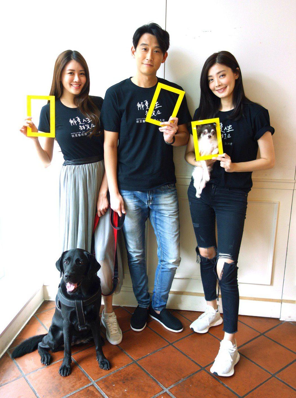 賴琳恩、陳乃榮、夏如芝。圖/國家地理頻道提供