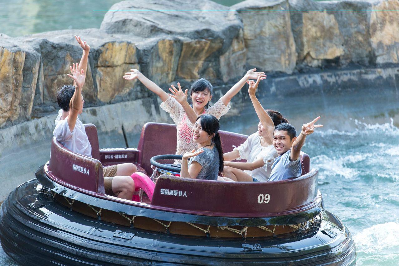 響應政府擴大秋冬旅遊補助,12歲以下小朋友免費入園。圖/六福村提供