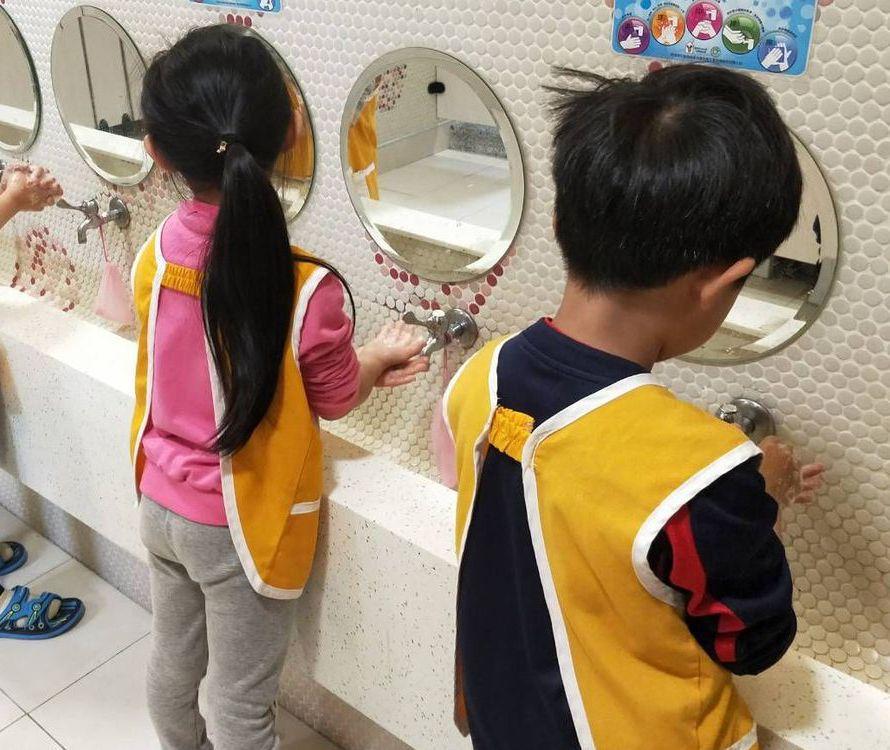 預防腸病毒要落實勤洗手。 圖/桃園市衛生局提供