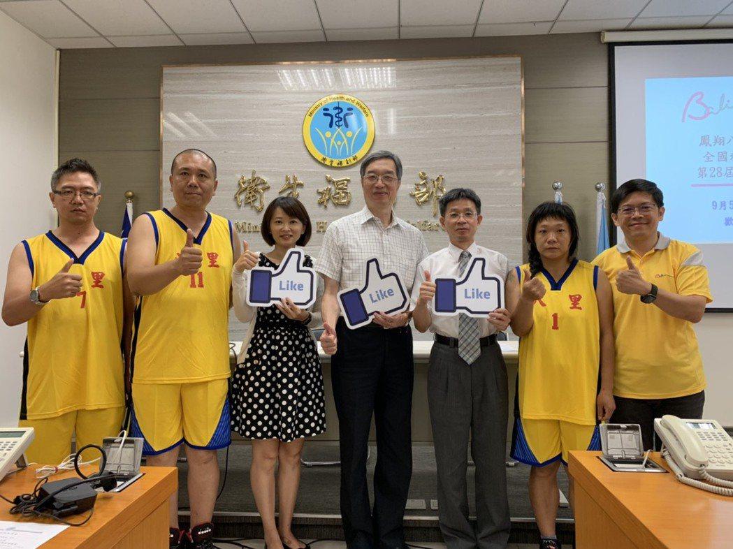 第28屆鳳凰盃運動會即將於周四展開,展現精神病友復健成果。 記者陳雨鑫/攝影