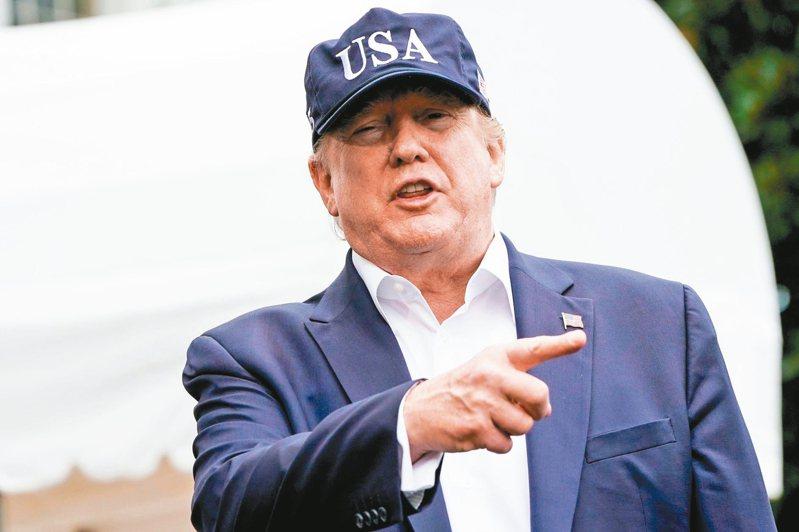 美國總統川普今年稍早宣布國家進入緊急狀態,以繞過國會取得他興建美墨邊界高牆計畫的經費。 路透