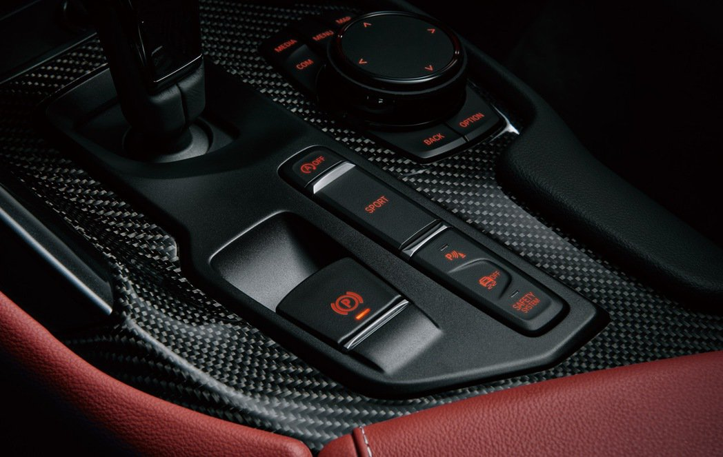 TOYOTA SUPRA也提供運動化模式的調整。 圖/和泰汽車提供