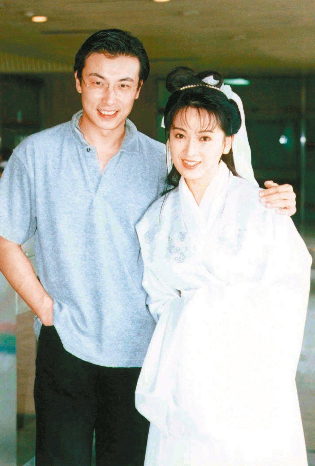 林煒和老婆龔慈恩結婚20年。圖/本報資料照片