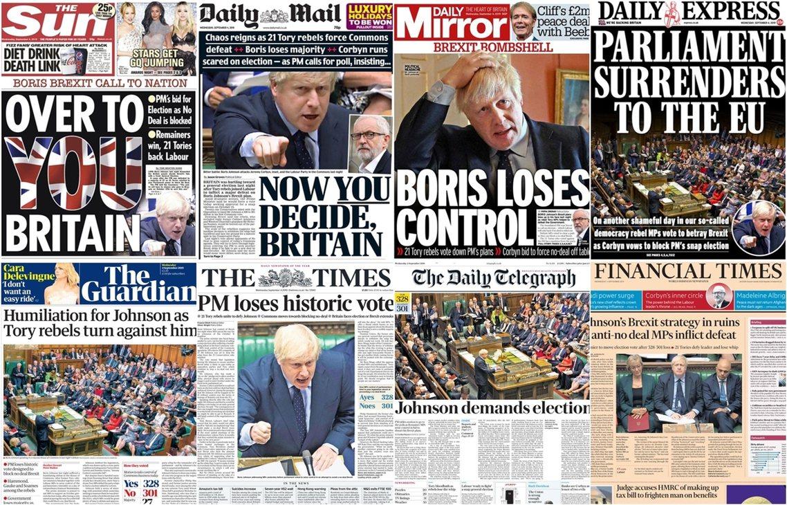 21名保守黨議員,周二偕同工黨發動「政治叛亂」,以328票對301票的強勢結果,...