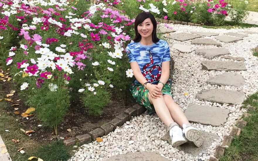 人生到了下半場,吳明珠喜歡出國旅遊,老公成了最佳旅伴。