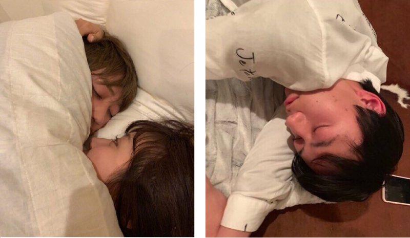 女粉絲曝光作間龍斗和橋本涼的私密照。圖/擷自微博