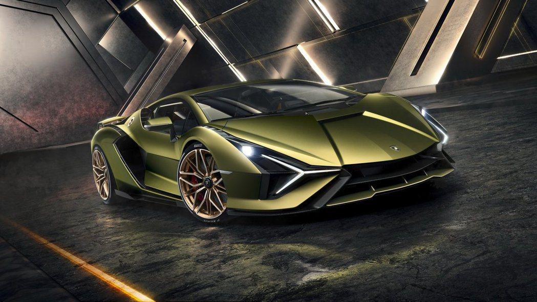 快如閃電的終極Hybrid大牛王Lamborghini Sián正式登場!