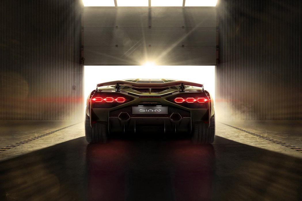 Lamborghini Sián。 摘自Lamborghini