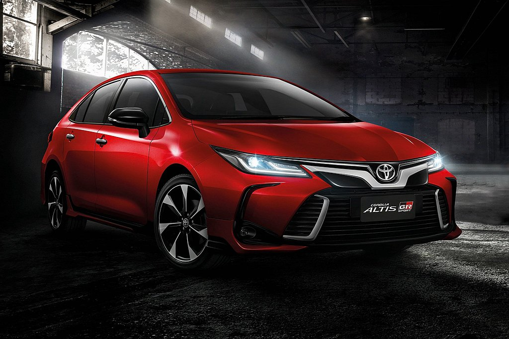 泰國於9月3日發表全新第12代Toyota Corolla Altis並同步推出...