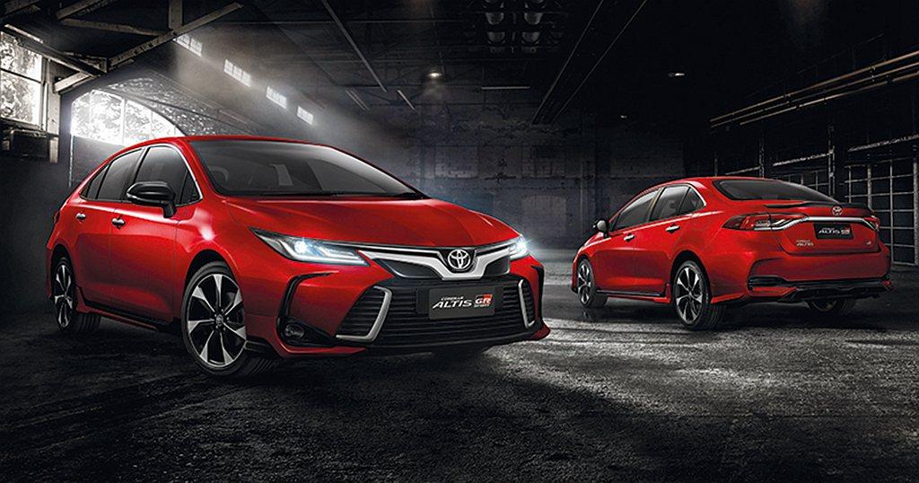 Toyota Corolla Altis 1.8 GR Sport車頭添加高質感...
