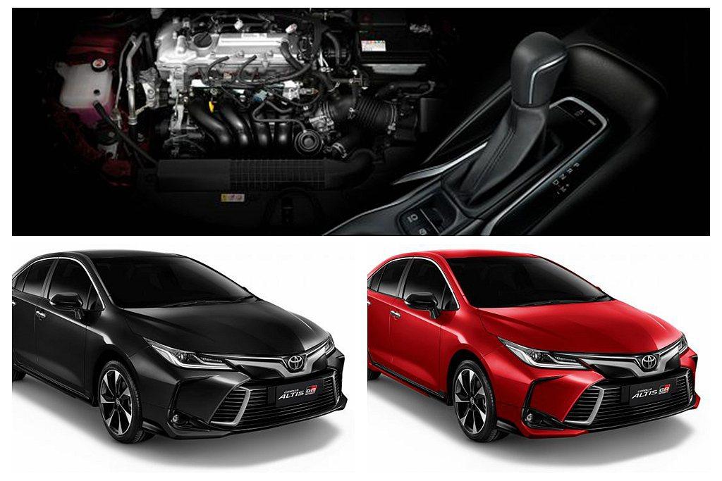 Toyota Corolla Altis 1.8 GR Sport搭載1.8L自...