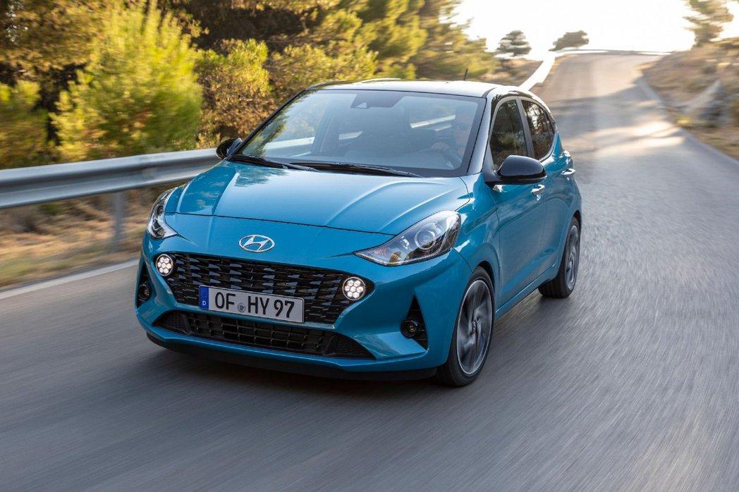 第三代Hyundai i10導入了Hyundai SmartSense主動式安全...
