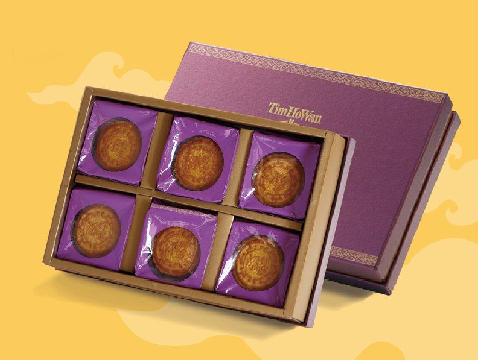 「港式奶皇月餅禮盒」好運價588元(6入/盒)。添好運/提供
