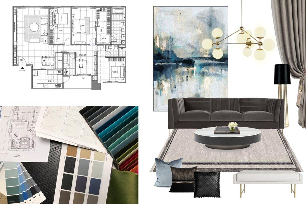 華而登根據空間氛圍提供家具規劃建議,並了解客戶使用習慣,調整比例與施工細節,為每...