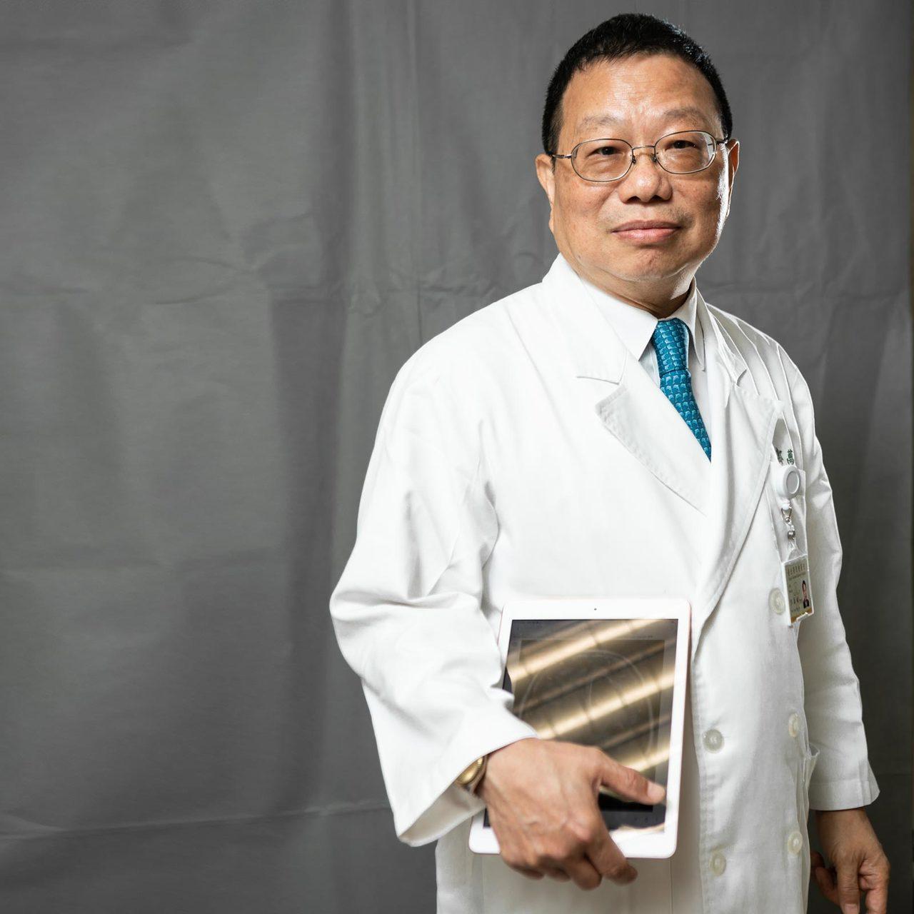 郭萬祐認為,AI愈來愈聰明,放射科醫師的工作內容、甚至名稱可能都會改變,但只要醫...