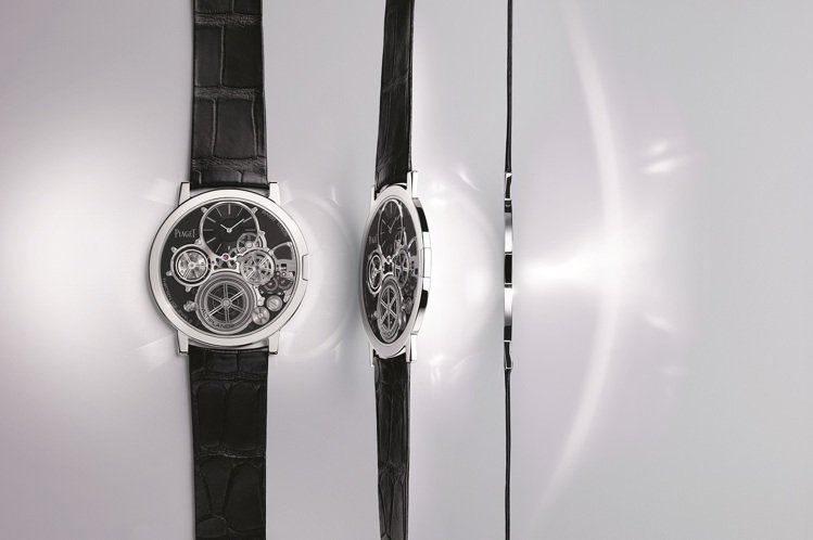 Altiplano終極概念腕表整體厚度僅2毫米。圖/伯爵提供