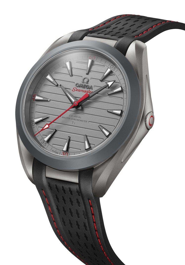 歐米茄海馬Aqua Terra超輕腕表,鈦金屬表殼、表盤,搭載8928 TI大師...