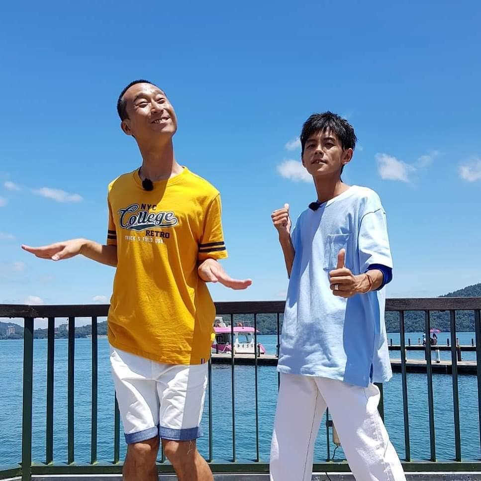 浩子(左)和阿翔是多年來的工作夥伴。圖/摘自臉書