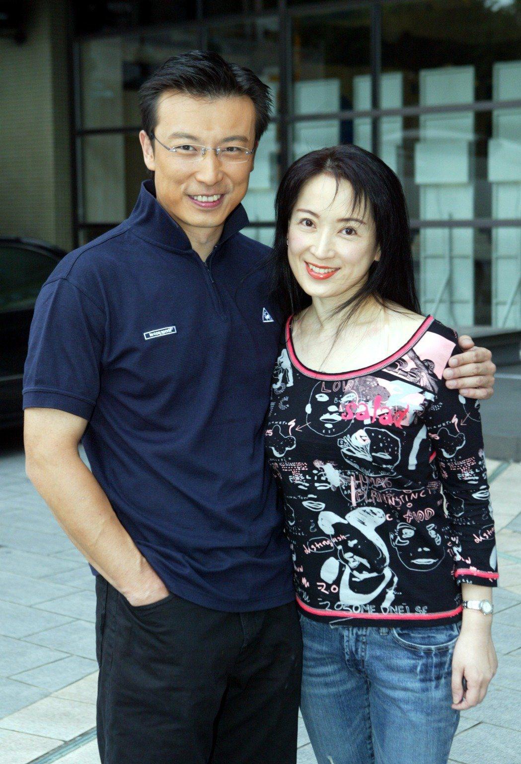 林煒和龔慈恩結婚20年如今傳出婚變。圖/本報資料庫