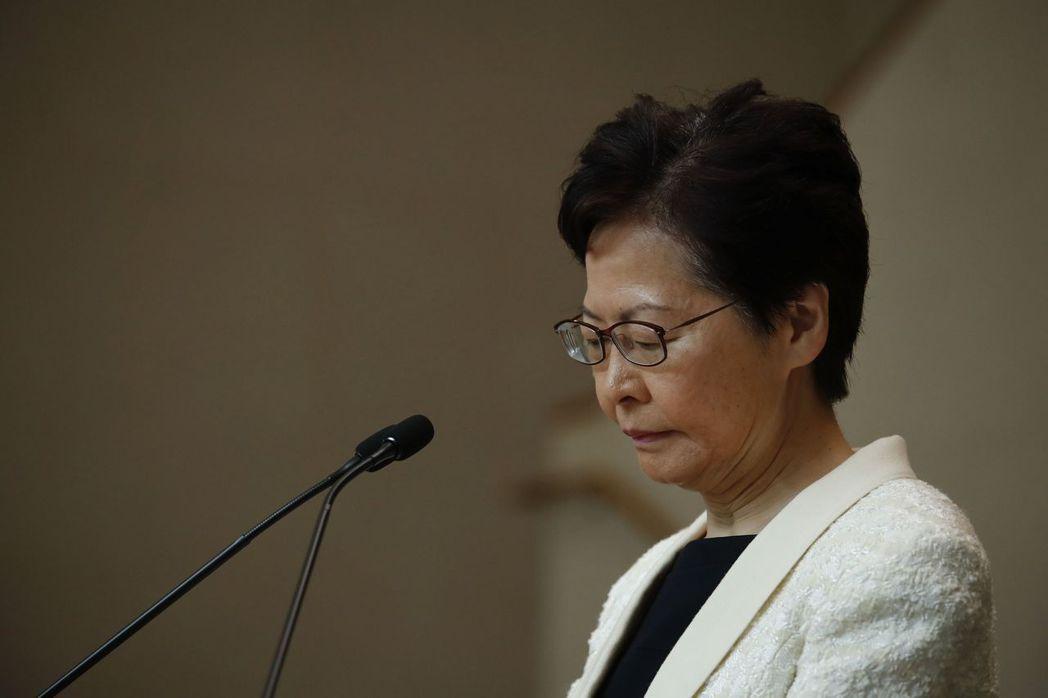 香港特區行政長官林鄭月娥 美聯社