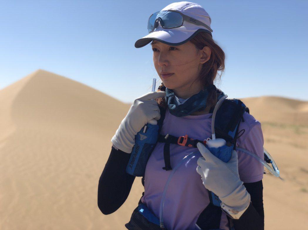 王心恬三度挑戰超跑馬拉松  圖/凱渥提供