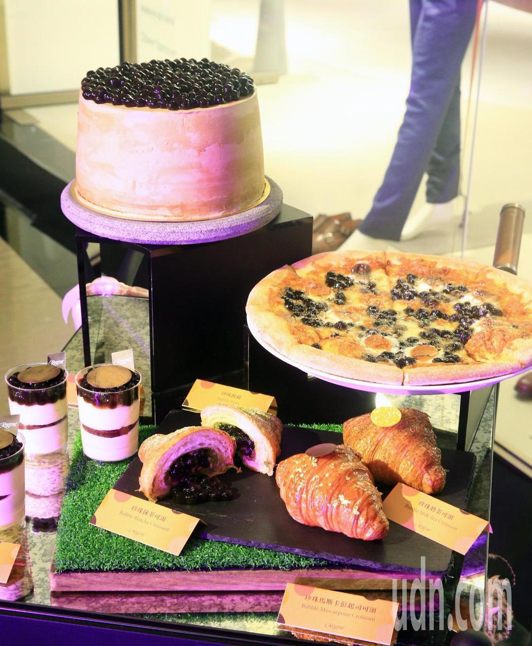 「麗晶之夜」,甜品美食呈現給嘉賓們。記者陳正興/攝影
