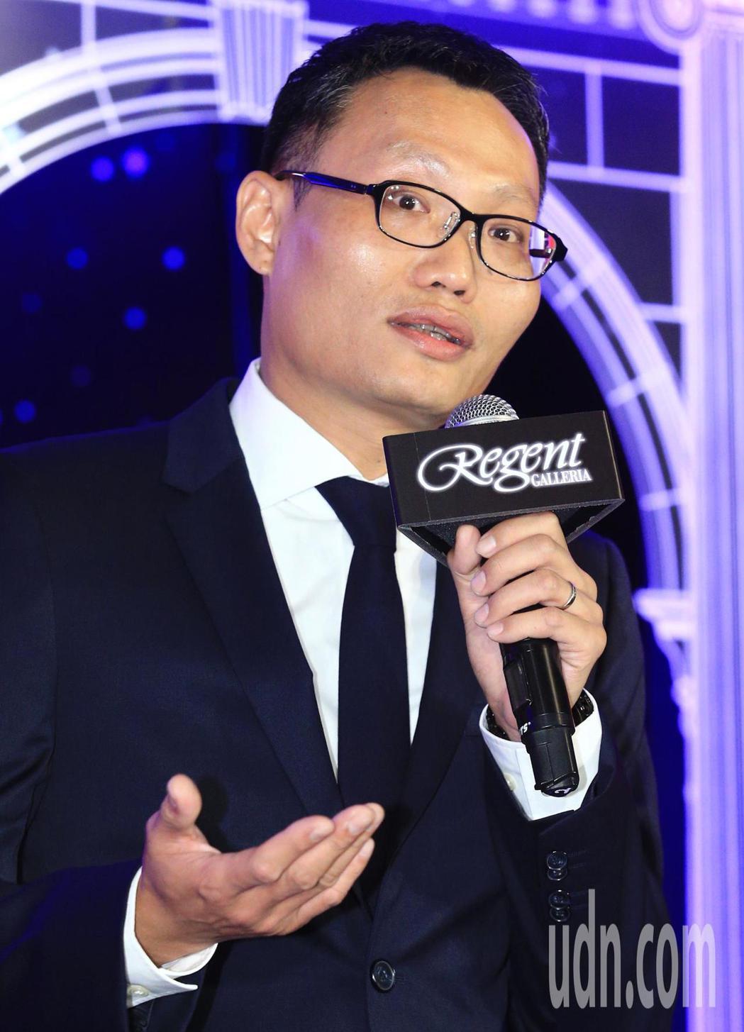 台北晶華酒店總經理吳偉正代表致詞。記者陳正興/攝影